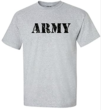 t shirt army Vintage