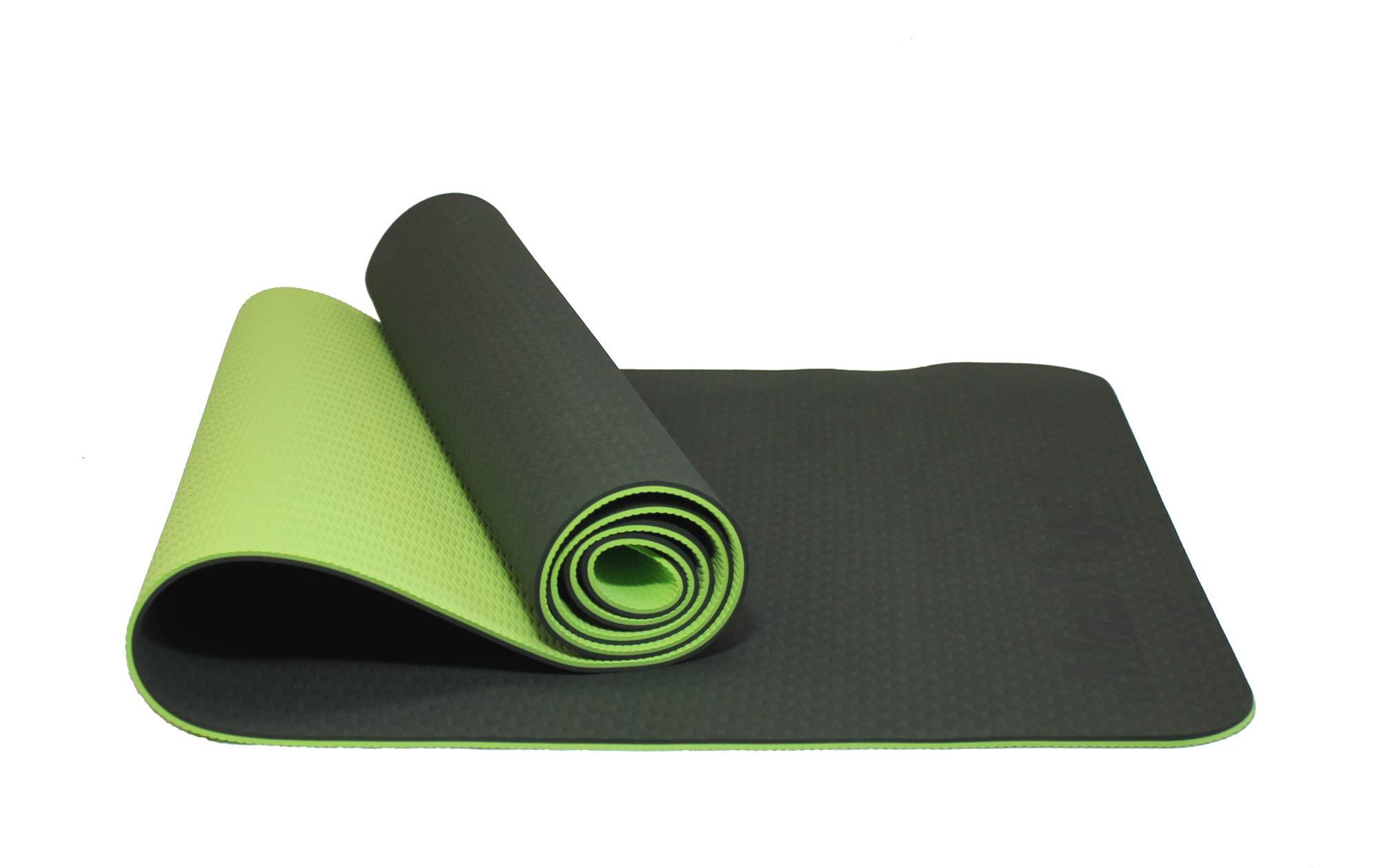 MAXYOGA® Esterilla para Yoga/Pilates/Gimnasia de Material ecológico TPE. Yoga Colchoneta Esterilla Antideslizante y Ligero con Grosor de 6mm, tamaño 183cm x 61cm. product image