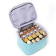 IN Multicolor 20 slots Lipstick Organizer, Lipstick Holders, Makeup bag, Small cosmetic case