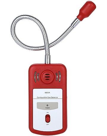 Detector de Fugas de Gas Combustible Sensor sniffer con alarma de luz y sonido general Herramientas