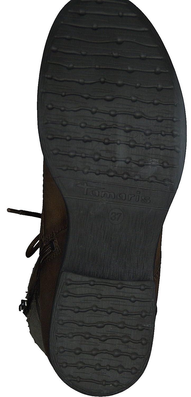 Tamaris Damen 1-1-25923-39 Damen Tamaris Stiefel, Stiefelette, Chelsea-Stiefel, Stiefel, Absatzschuh, Winterstiefel, Herbstschuh für die modebewusste Frau, funktionaler Reißverschluss 0ab125