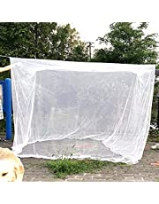 Large Mosquito Net for Outdoors, Camping Mosquito Net Four Corners Enhanced Tactical Mosquito Net Outdoor Mosquito, Free Bag & for Easy Setup