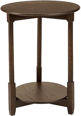 Ethan Allen Freya Round Spot Table, Loft