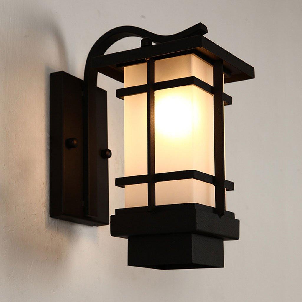 fornire un prodotto di qualità La nuova lampada lampada lampada da parete esterna di stile cinese ha condotto la lampada da parete esterna esterna impermeabile del giardino del giardino della luce del giardino del giapponese  alta qualità