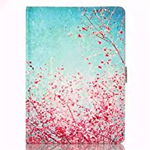 iPad Pro 9.7 Case,Gift_Source [Plum flower] [Slim Fit] [Magnetic Closure] Luxury PU Leather Wallet Case Built-in Card Slots Folio Flip Case Cover For Apple iPad Air 3 / iPad Pro 9.7 inch