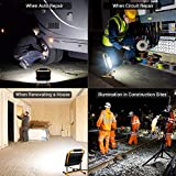 MustWin 60W Portable LED Work Light 6000LM