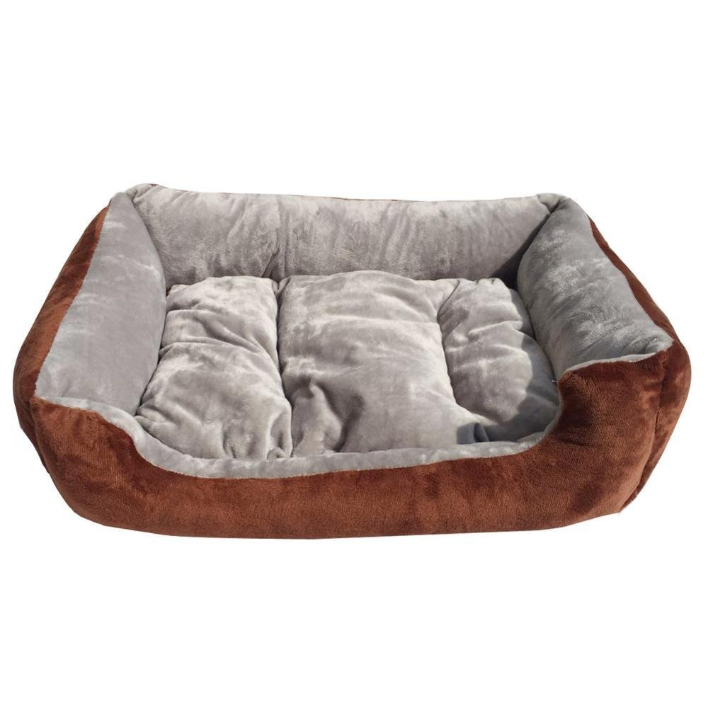 C 5040 C 5040 Gperw Dog bed Kennel Cat Litter Four Seasons Pet House puppy Mat Non Slip Cushion Pad (color   C, Size   50  40)