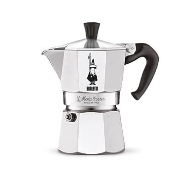 Bialetti Moka Express 3 Cup Espresso Maker 06799