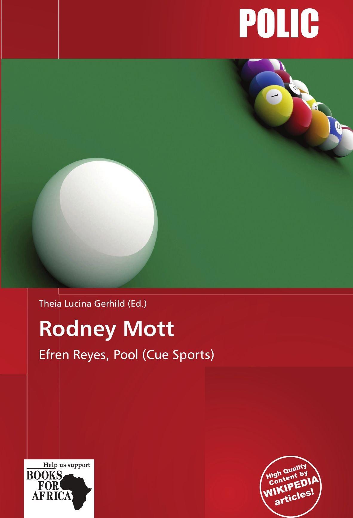 Rodney Mott: Efren Reyes, Pool (Cue Sports): Amazon.es: Gerhild, Theia Lucina: Libros en idiomas extranjeros