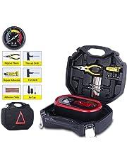Compresor de Aire portátil tyre inflator Bomba de neumática montada en el automóvil Inflador eléctrico Inflador