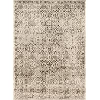 Loloi Rugs Century Collection CENTCQ-03SA002740 Area Rug, 2 7 x 4, Sand