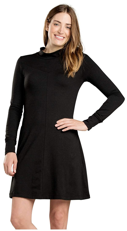 Black Toad&Co Fernview LS Dress  Women's