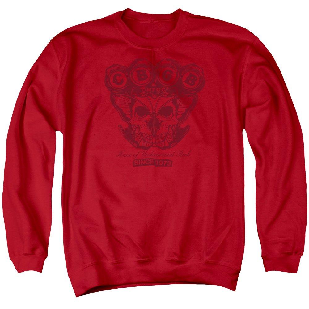 CBGB - Cbgb - Männer Moth Schädel Sweater