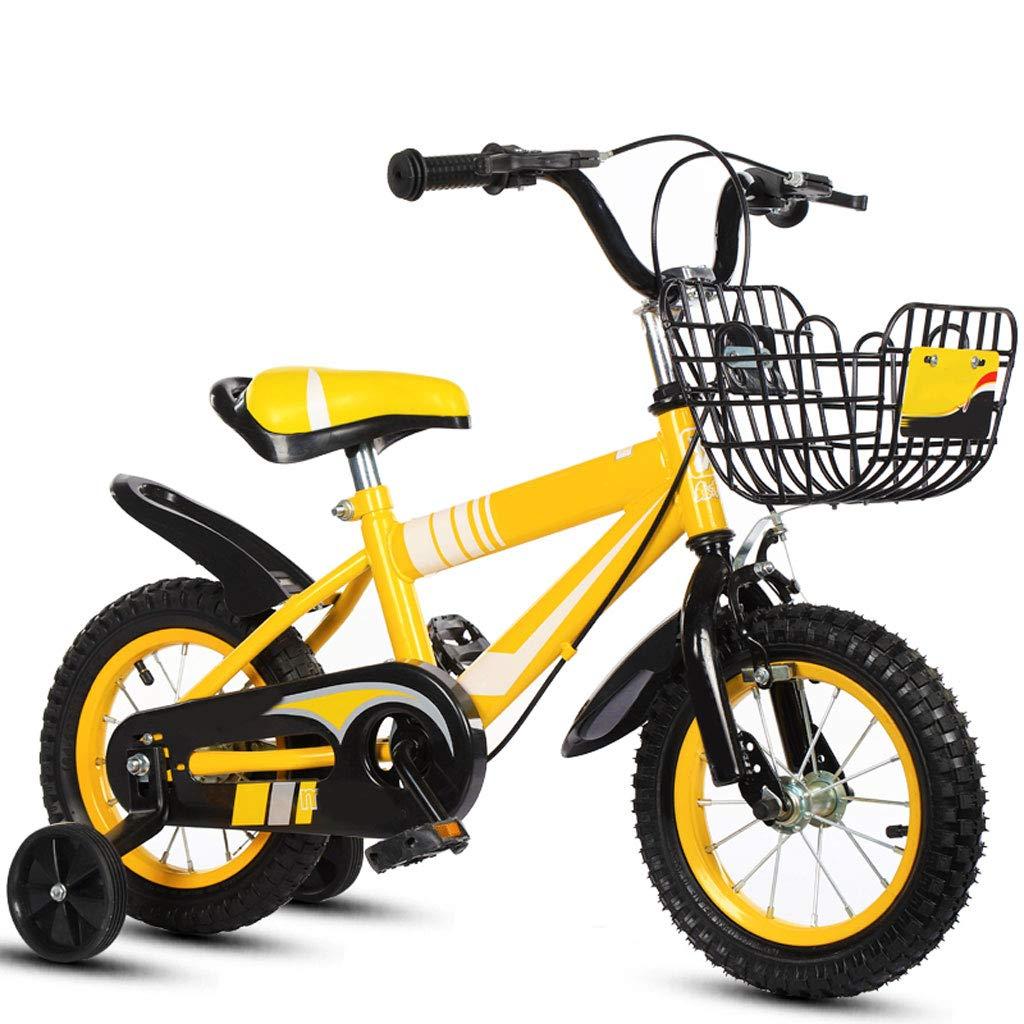 XBNH Bicicleta para Niños 3 Años De Edad Bicicleta para Niños 12/14/16/18 Pulgadas Niño Niña 6-7-8-9-10 Años con Rueda Auxiliar (Tamaño: 18 Pulgadas)