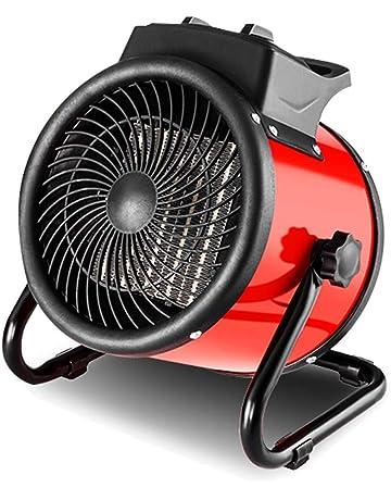 Convectores LHA Calentador de Ventilador Industrial de 3KW con termostato Ajustable para Taller de Garaje Invernadero