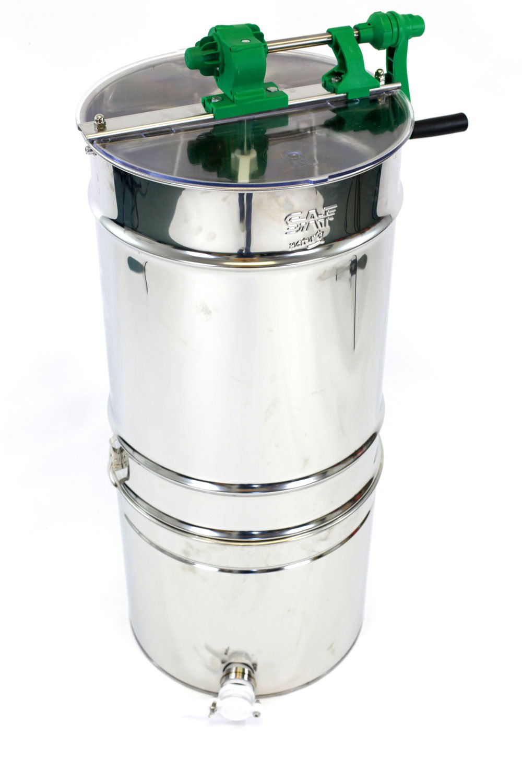 Beekeeping Manual Honey Extractor Stainless Steel by Easibee FED350