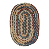 Colonial Mills MM02R024X072 Market Mix Oval Braided Area Rug, Summer
