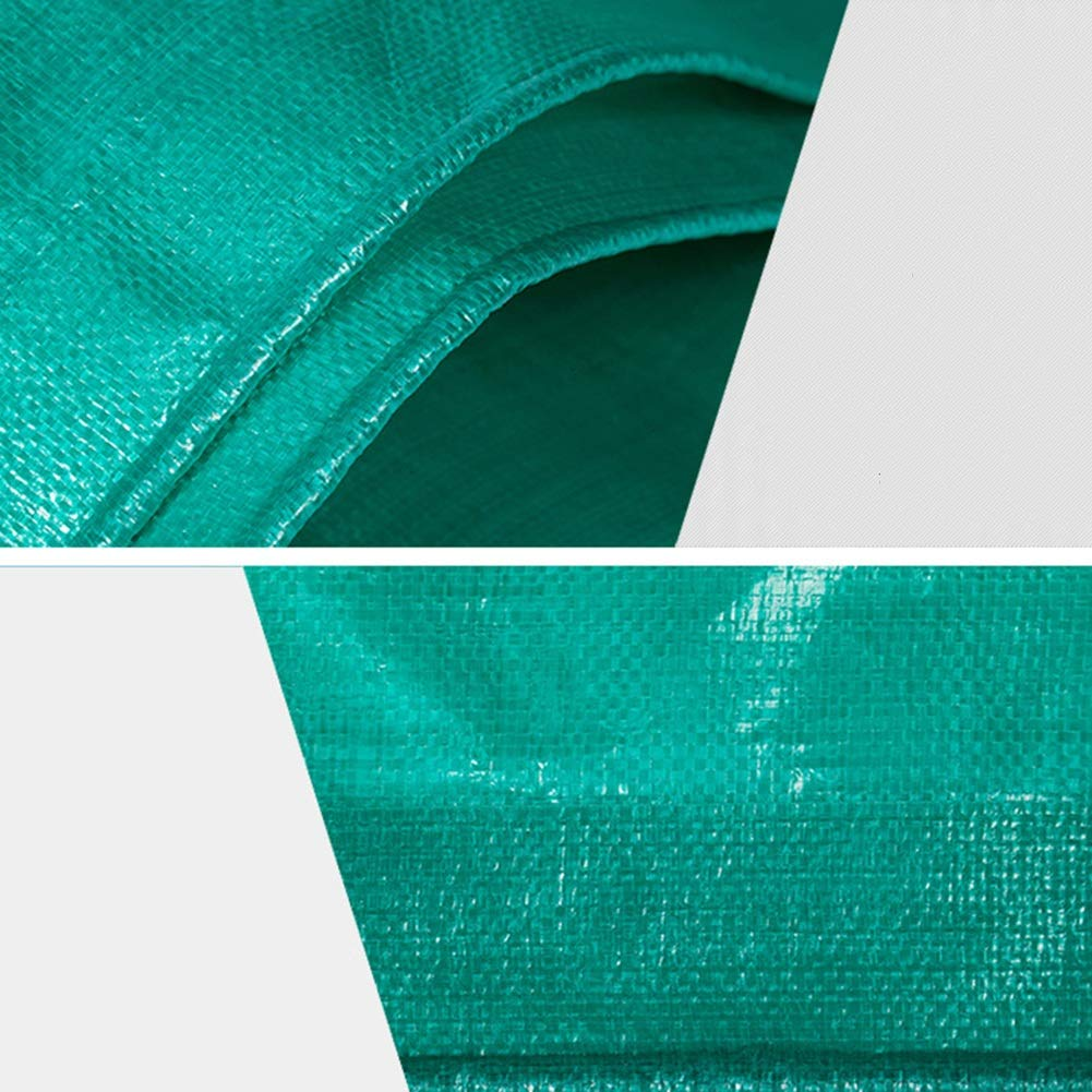 Sombra De Toldo-Paño del Toldo De Sombra La Protección del Sol, Paño Plástico De La Lluvia PE FENPING (Color : Transparent Verde, Tamaño : 3m6m) c1d446