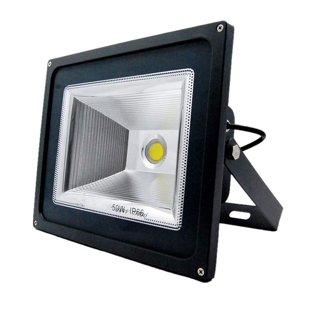 Faretti a LED con luce di sicurezza per esterni (colore   Luce calda-50w)