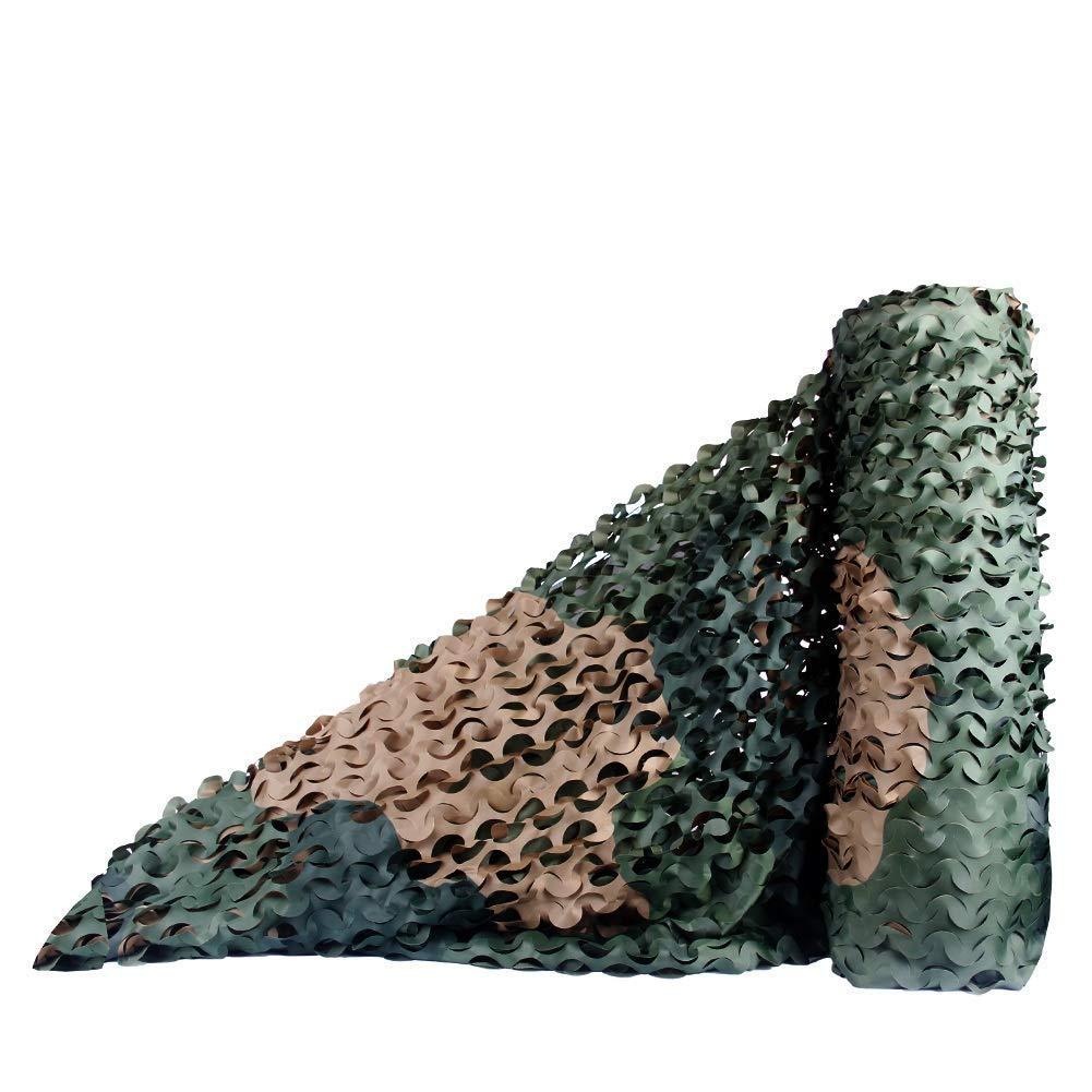 1.55m Filet Camo Visière Extérieure GR Mode de forêt Verte Camouflage Net pour Couverture de Voiture Net Camping en Plein air de Camouflage Net Multi-Taille en Option (Taille  1.5  6m) Armée Camo Filet