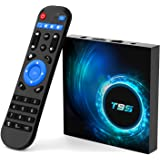 T95 Android tv Box 10.0,Allwinner H616 Quad-core 4GB RAM 128GB ROM Smart Android Stream Box ,Support 6K,3D,2.4G/5.0GHz Dual W