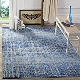 Safavieh Adirondack Collection ADR116D Blue and Silver Area Rug, 3 Feet by 5 Feet