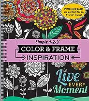 Color & Frame Coloring Book - Inspira