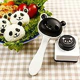 1 Set Panda Onigiri Sushi Roll Maker Roller Roller Rice Mold Mat, Sandwich Maker Baking Tool