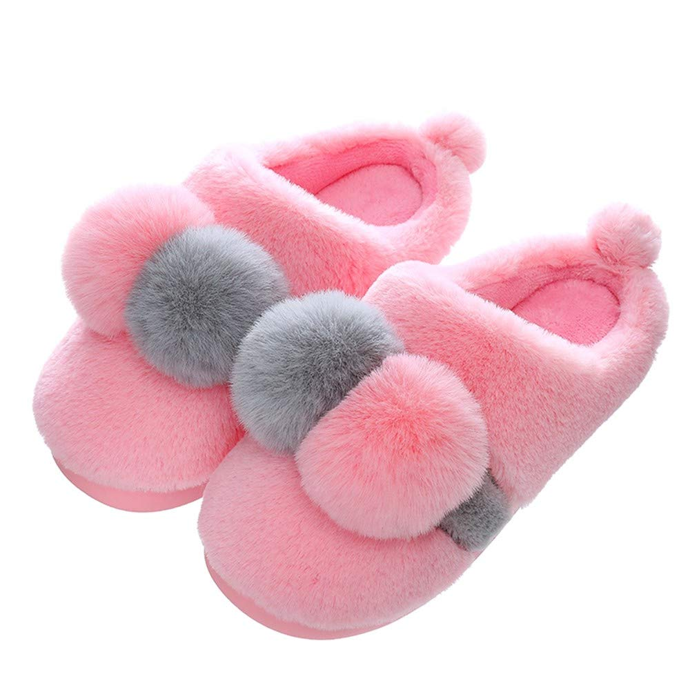 RJVCANERS Hausschuh Herbst   Winter -   Paar   Cotton Slipper   Female   Thermal   Anti Slip   Innen   Monthly   Haar Slipper   All In   Cotton Schuhen   Mann
