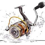 Portzon Fishing Reel/Telescopic Fishing Rod and Reel Combos Full KitPortzon Spinning Reel, 5.1: 1,7000 Fishing Reel Spinning,