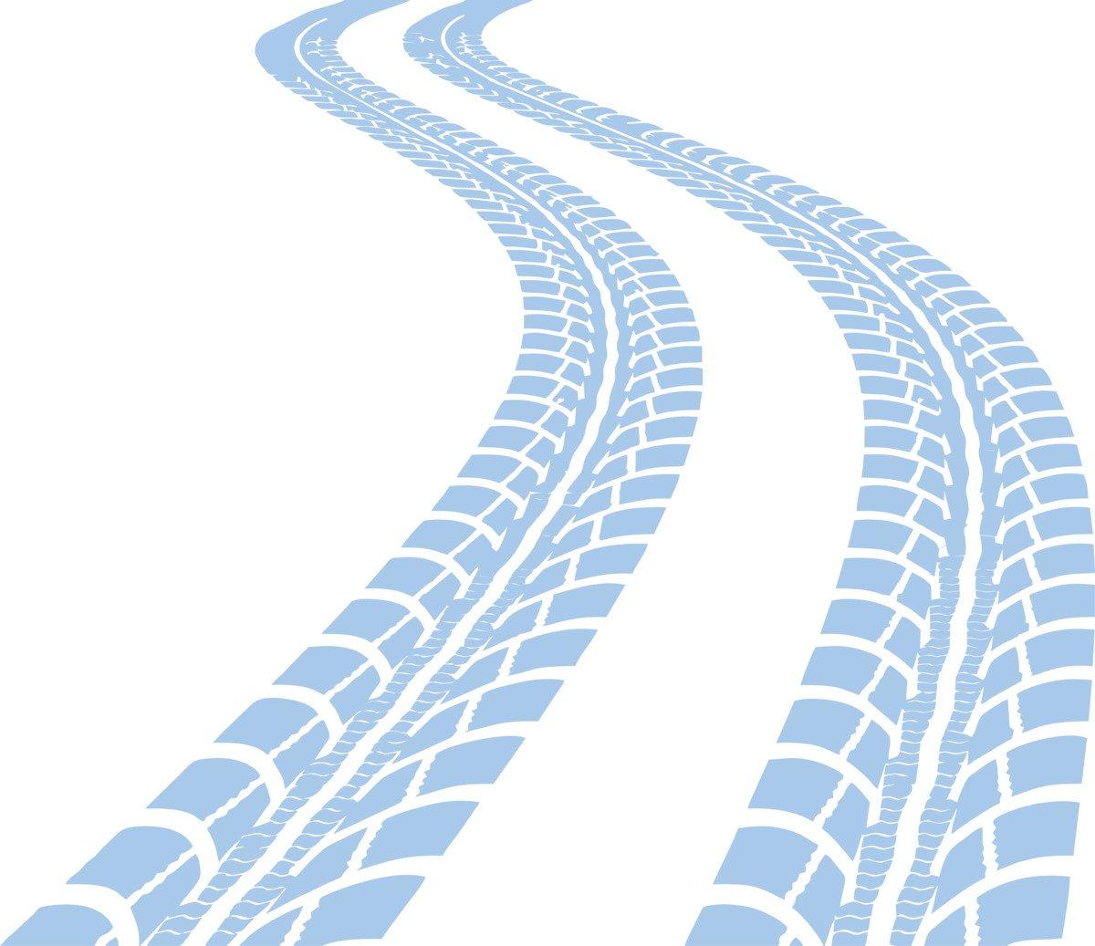 CLICKANDPRINT Aufkleber » Reifen-Spuren, 120x103,7cm, Schwarz • Wandtattoo     Wandaufkleber   Wandsticker   Wanddeko   Vinyl B01N7LQTK8 Wandtattoos & Wandbilder a70be0