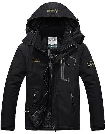 JINSHI Mens Mountain Waterproof Fleece Ski Jacket Windproof Rain Jacket ba12445ab