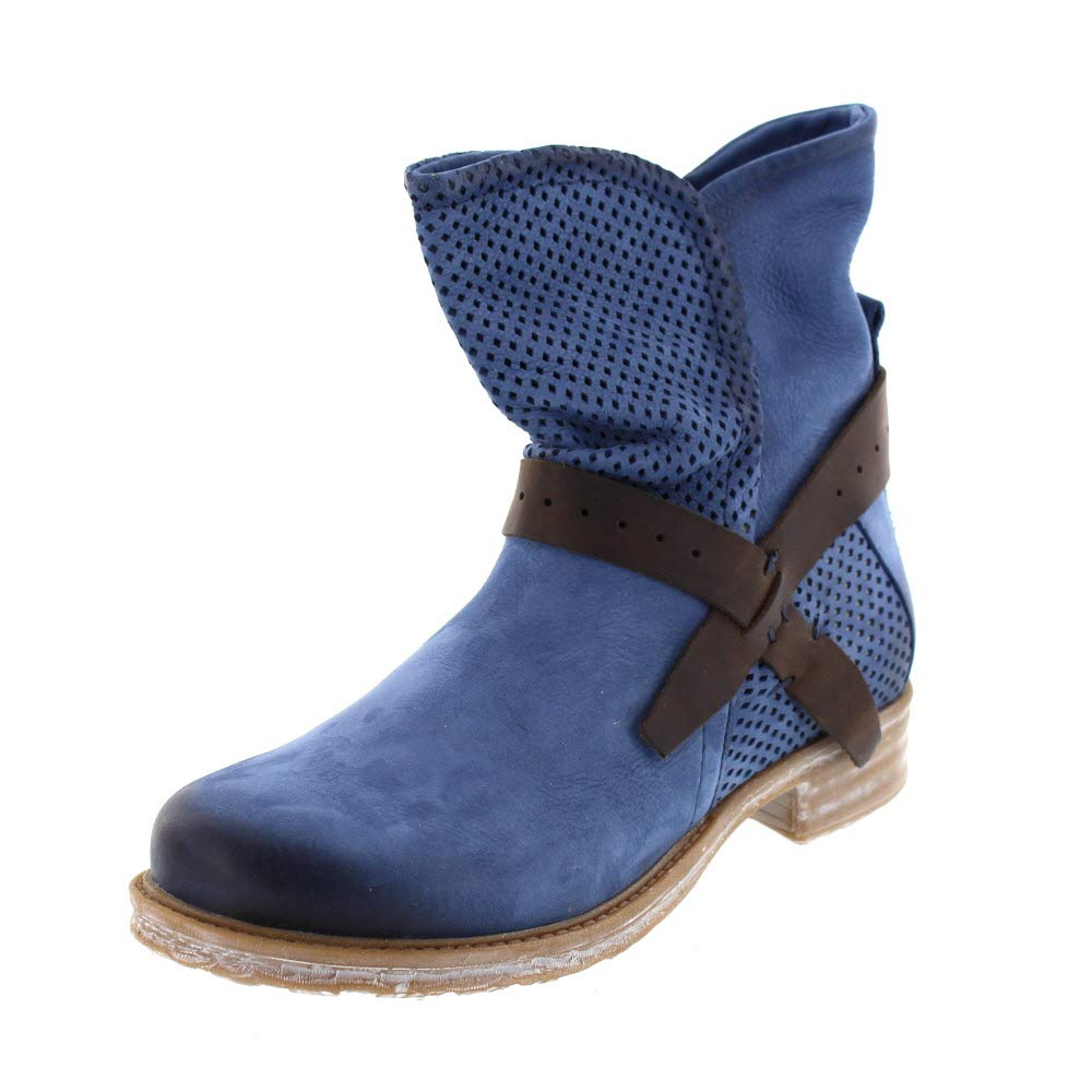 Maca Kitzbühel Damen - Stiefelette 2232 - - - Blau d9383e