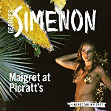 Maigret at Picratt's: Inspector Maigret, Book 36 Audiobook by Georges Simenon Narrated by Gareth Armstrong