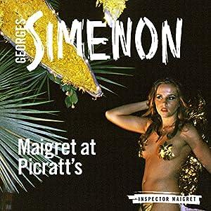 Maigret at Picratt's Hörbuch