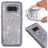 S8 Plus Case,Galaxy S8 Plus Glitter Case,DAMONDY 3D Moving Stars Bling Liquid Glitter Floating Dynamic Flowing...