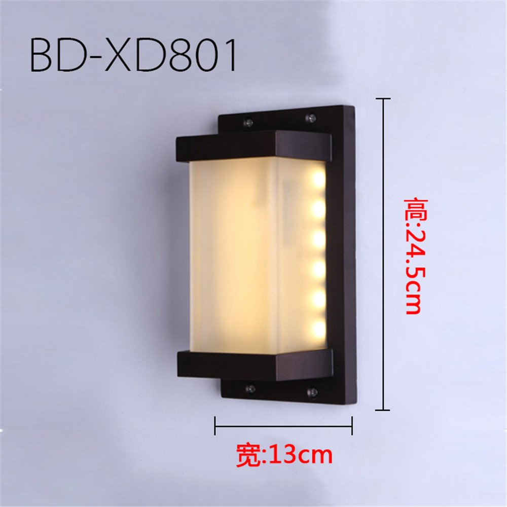 nuovi prodotti novità SQIAO lampada da parete moderna a LED Esterno impermeabile luci luci luci da parete cafe luce da soffitto villa giardino terrazza esterna corridoio luci  negozio online
