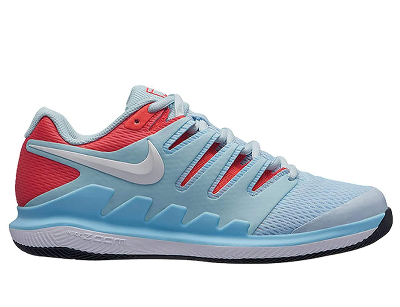 MultiCouleure (Still bleu blanc Bright Crimson noir 402) 42 EU Nike WMNS Air Zoom Vapor X HC, Chaussures de Tennis Femme
