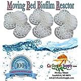 Cz Garden Supply K3 Filter Media PREMIUM GRADE Moving Bed Biofilm Reactor (MBBR) for Aquaponics • Aquaculture • Ponds • Aquariums (1 Cubic Foot)