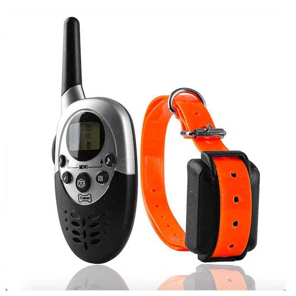 As-picture 1000m Remote Control Snoring Waterproof Training Dog Collar Boutique (color