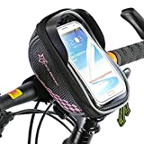 ROCKBROS Bike Handlebar Bags Touch Screen Quick Release High Capacity for 5.5 inch Smartphone