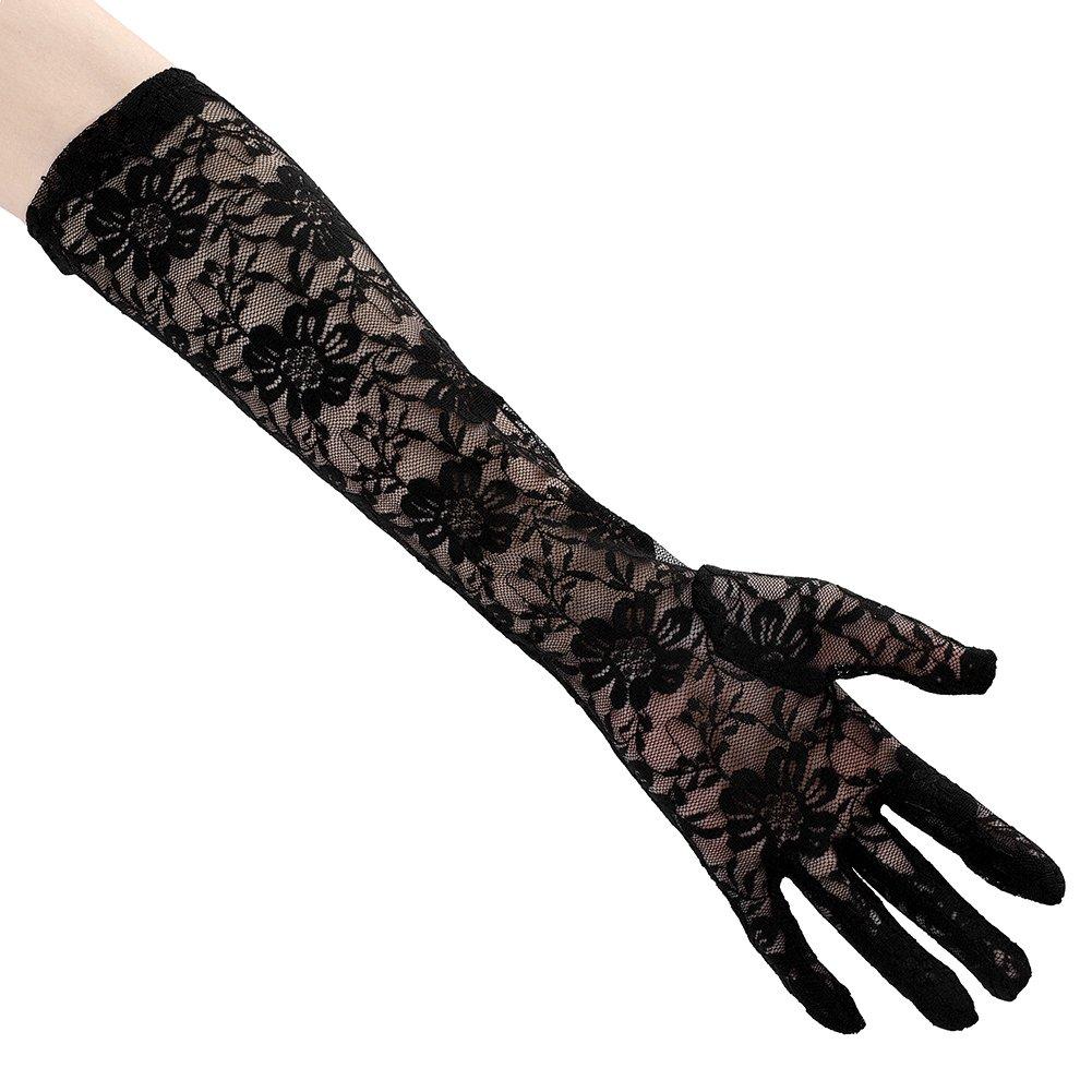 bbw in sexy gloves