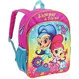 "Nickelodeon Shimmer and Shine Girls Backpack Full Size 16"""