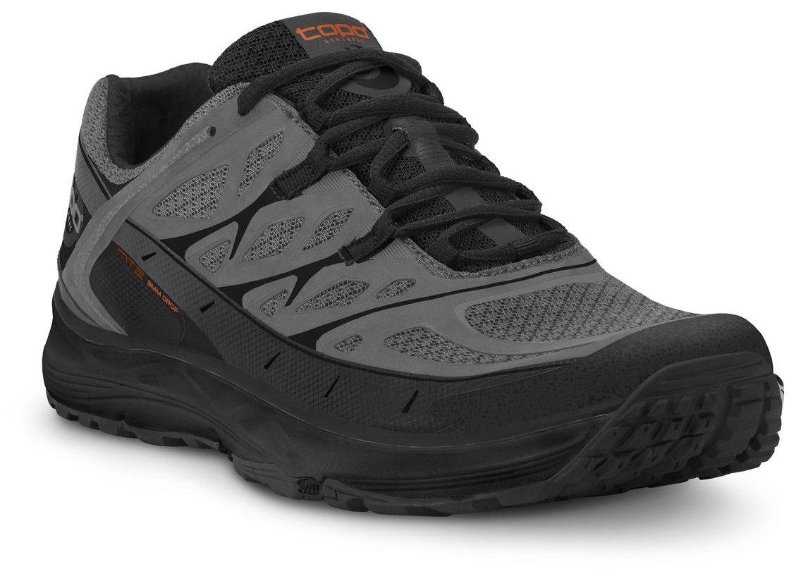 Topo Athletic MT2 Running Shoe - Men's B07CGDMHS9 8.5 D(M) US|Grey/Black