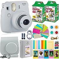 Fujifilm Instax Mini 9 Camera + Fuji Instax Film (40...