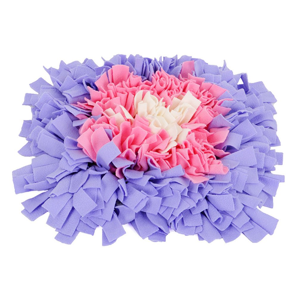 1  millet16zjh Dog Puppy Snuffle Mat Play Yummy Pad Funny Toy Pet Nose Training Feeding