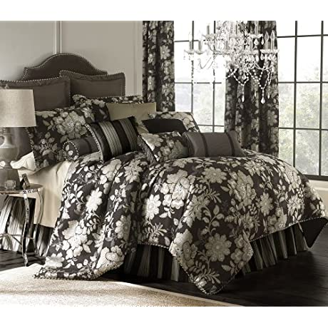 Rose Tree Bryant Park Comforter Set Includes Comforter Bedskirt And Two Shams Full