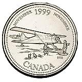Canada 1999 November 25 cents UNC Millenium Series Canadian Quarter