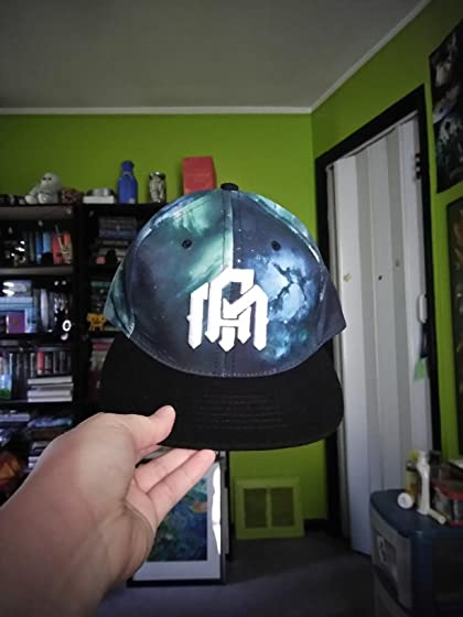 INTO THE AM Adjustable Snapback Hats - Flat Brim Galaxy Print, Tie Dye Cap Designs but it's easily adjustable. I feel like the colors are just ...