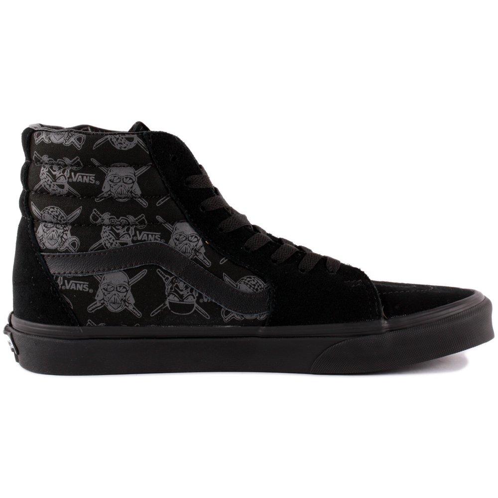 Vans Herren U SK8-HI (Suede)) High-Top Sneaker, Schwarz (schwarz/schwarz (Suede)) SK8-HI 735983